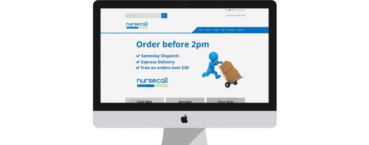 Nursecall Mats - New Website - www.nursecallmats.co.uk