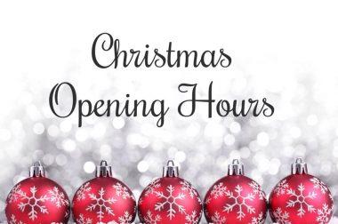 Christmas Closing Times